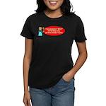 Ask WWJD Too Often . . . Women's Dark T-Shirt