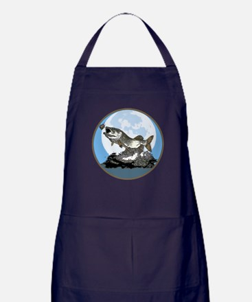 Musky moon light Apron (dark)