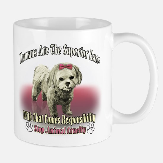 Humans Are The Superior Race Mug