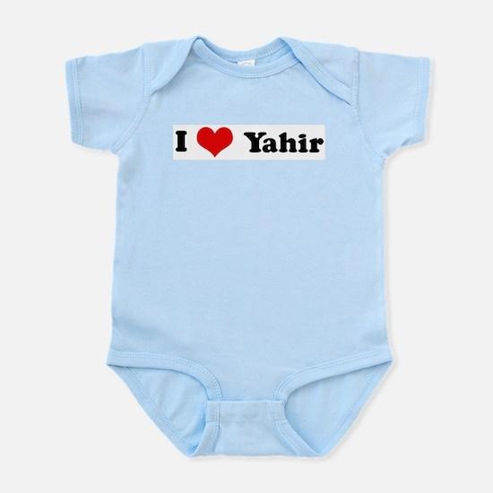 I Love Yahir Infant Creeper