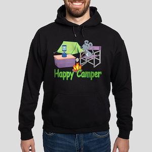 Happy Camper Hoodie (dark)