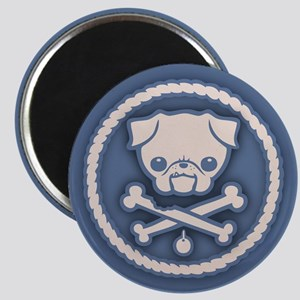 Pirate Pug -Blu Magnet