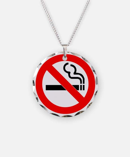 No Smoking Necklace