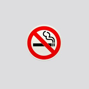 No Smoking Mini Button