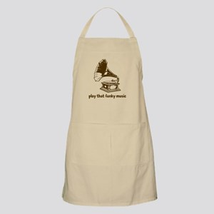 Funky Music (brown) Apron