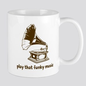 Funky Music (brown) Mug