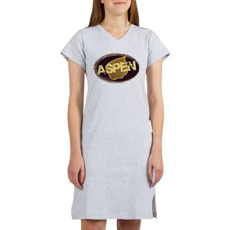 Aspen Coffee Logo Women's Nightshirt