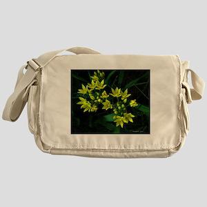 .vivid yellow. Messenger Bag