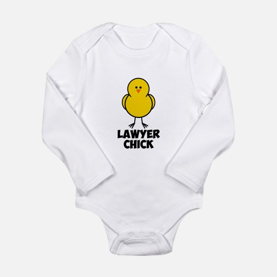 Lawyer Chick Long Sleeve Infant Bodysuit