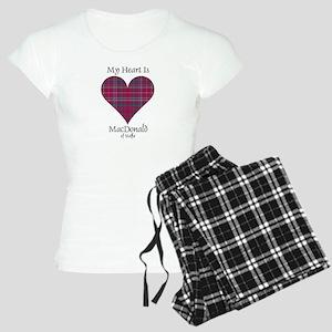 Heart - MacDonald of Staffa Women's Light Pajamas