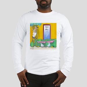 Lab Rats Wallpaper Long Sleeve T-Shirt