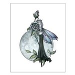 Midnight Rose Fairy Small Poster