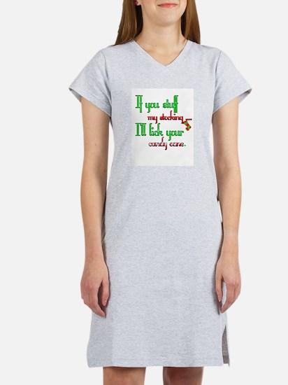 Unique Adult christmas Women's Nightshirt
