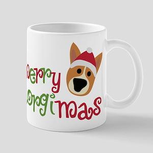 Merry Corgimas Mug