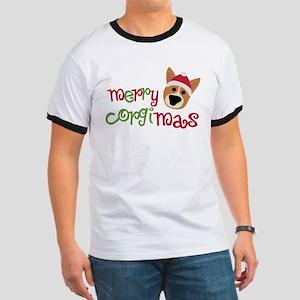 Merry Corgimas Ringer T