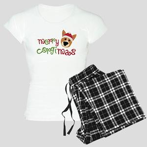 Merry Corgimas Women's Light Pajamas