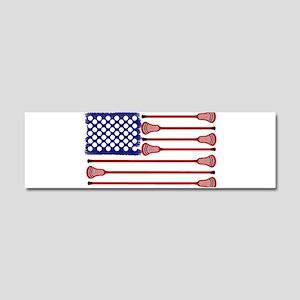 Lacrosse AmericasGame Car Magnet 10 x 3