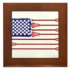 Lacrosse AmericasGame Framed Tile