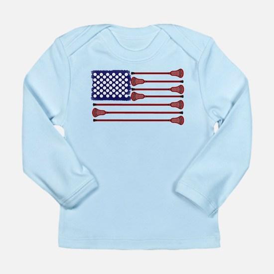 Lacrosse AmericasGame Long Sleeve Infant T-Shirt