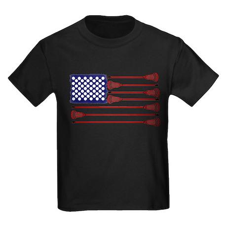 Lacrosse AmericasGame Kids Dark T-Shirt