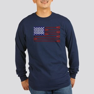 Lacrosse AmericasGame Long Sleeve Dark T-Shirt