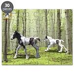 Gypsy Horse Puzzle (foals)