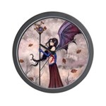 Gothic Fairy Vampire Wall Clock