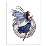 Midnight Blue Fairy Fantsy Art Small Poster