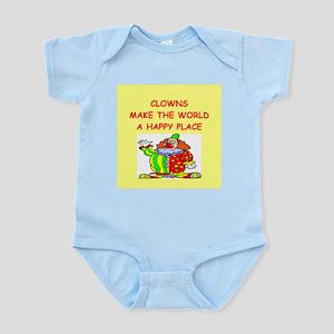 clowns Infant Bodysuit