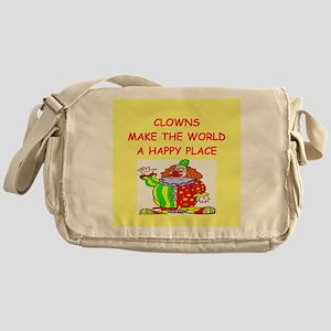 clowns Messenger Bag