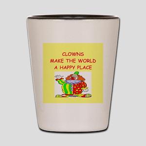 clowns Shot Glass