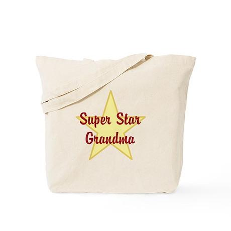 Super Star Grandma Tote Bag