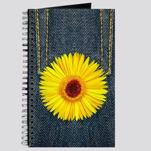 Sun Flower Denim Journal