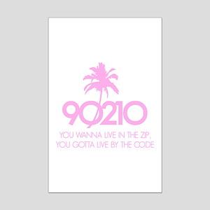 90210 Mini Poster Print
