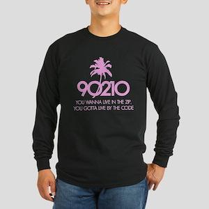 90210 Long Sleeve Dark T-Shirt