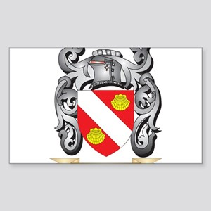 Aguirre Family Crest - Aguirre Coat of Arm Sticker