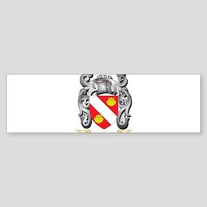 Aguirre Family Crest - Aguirre Coat Bumper Sticker