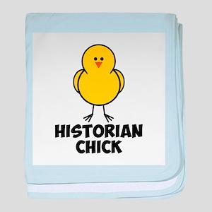 Historian Chick baby blanket