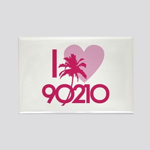 I Love 90210 Rectangle Magnet