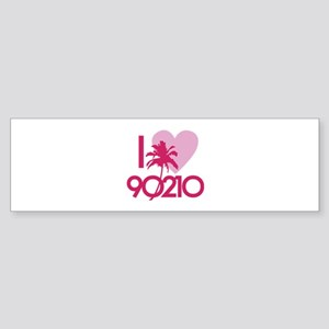 I Love 90210 Sticker (Bumper)