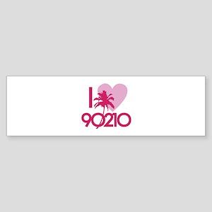 I Love 90210 Sticker (Bumper)