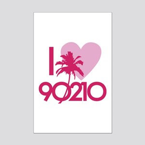 I Love 90210 Mini Poster Print