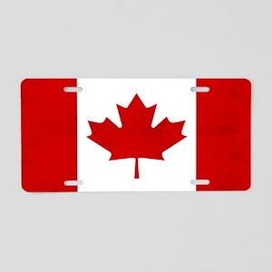 Flag of Canada Aluminum License Plate