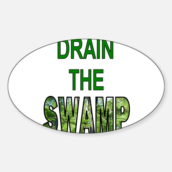 Drain The Swamp Decal