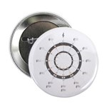 """Circle of Fifths 2.25"""" Button (10 pack)"""