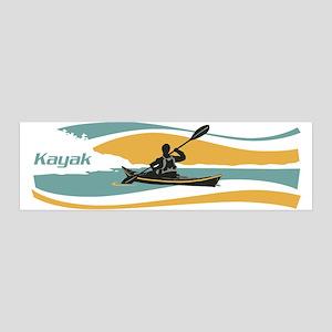Kayak Sunrise 42x14 Wall Peel