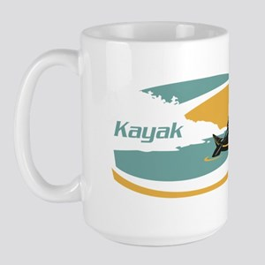 Kayak Sunrise Large Mug