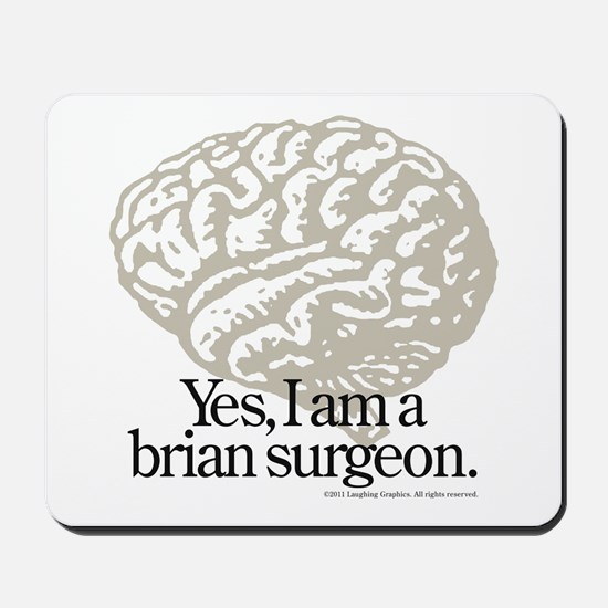 Brain Mousepad