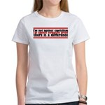 I'm Against Corporate Greed Women's T-Shirt