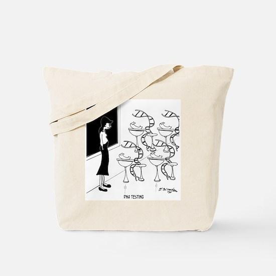 DNA Testing Tote Bag